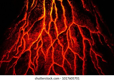 abstract magma texture as nice hot background