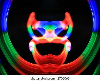 Abstract mask