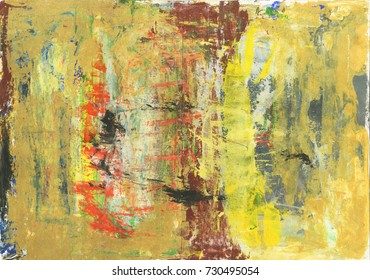 Abstract messy oil paint texture background