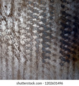 abstract metal background, rippled surface