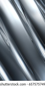 abstract metal chrome - full screen background. 3D image
