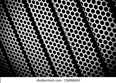 abstract metal grid background