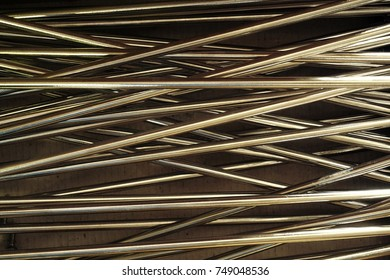 abstract of metal line for background used