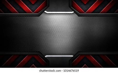 abstract metal template design background