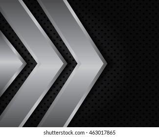 Abstract metallic background .