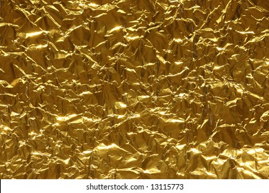 Abstract metallic background of gold color