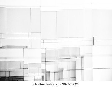 Abstract mirror background