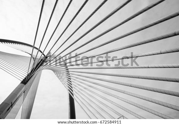 Abstract Modern Bridge Architecture