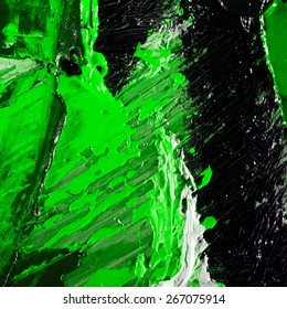 abstract modern impasto painting fragment. palette knife oil on canvas. artistic background