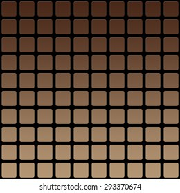 Abstract modern squares seamless pattern texture bright brown blurred colors background