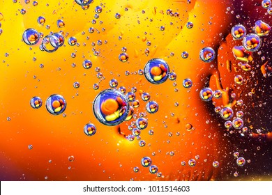 Abstract molecule sctructure. Macro shot of air or molecule. Abstract background. Space or planets abstract background. Selective focus
