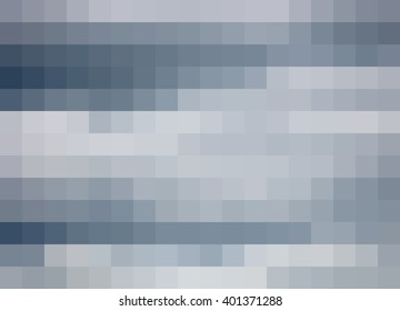 Abstract Mosaic Background, soft blues and grays with deep blue accents, pixels background, mosaic, abstract cloudy sky background