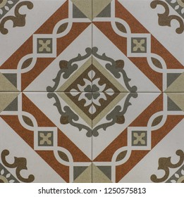 abstract mosaic geometric ceramic tiled background pattern