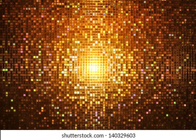 Abstract mosaic : night style