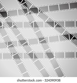 Abstract movie background 3d design