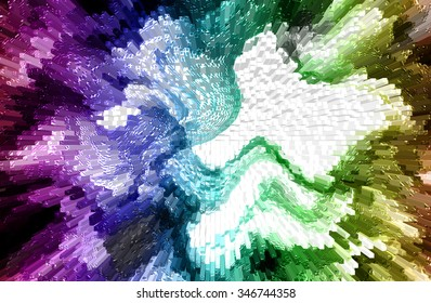 abstract  multicolor  background with trendy business website copy space and motion  blur