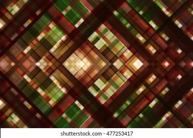 Abstract multicolored background with various color lines and strips. illustration technology.