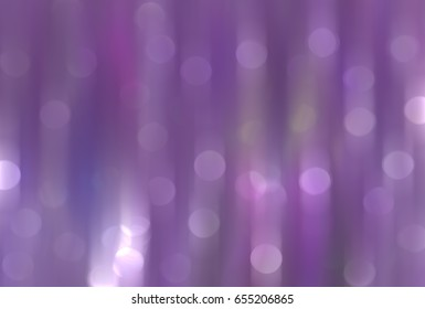 Abstract multicolored bokeh circles. Beautiful background illustration with particles.