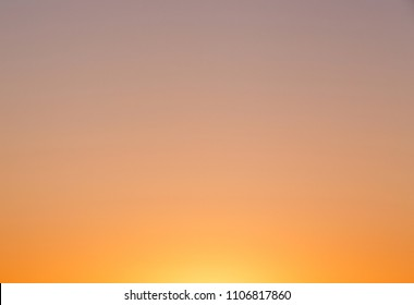 abstract natural backdrop: clear colorful sunset sky