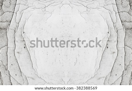 Abstract Natural Symmetrical Scratched White Copy Stock Photo (Edit ...