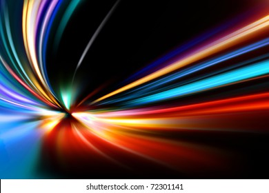 abstract night acceleration speed motion