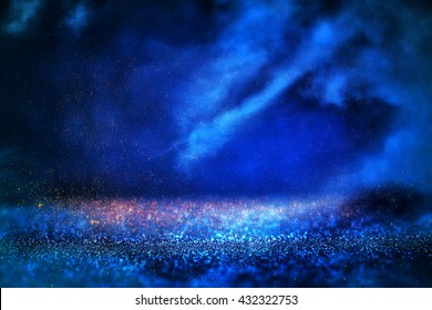 abstract night sky with clouds background
