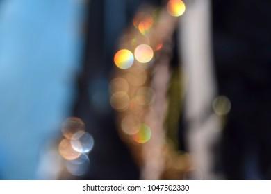 abstract nightlife lights