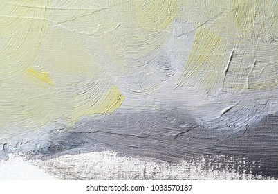 abstract oil painting on canvas brushstrokes contemporary art
