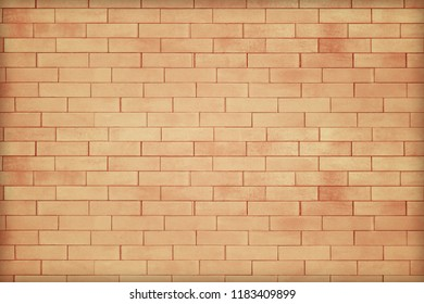 abstract old brown brick wall texture background