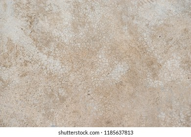 Abstract of old brown concrete  and cracked wall or floor