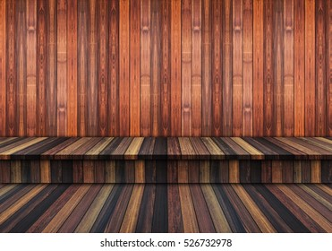 Abstract old, grunge wood panels used as background