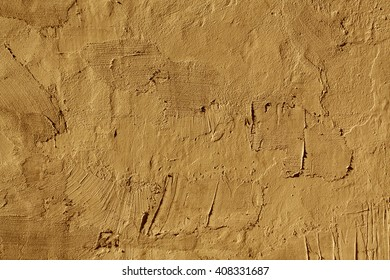 Abstract orange cement wall texture. Architectural background and texture for design.