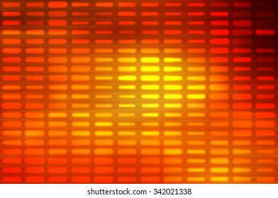 Abstract orange football or soccer backgrounds.Beautiful artistic flood lights.