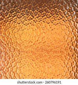 Abstract orange glass texture for background