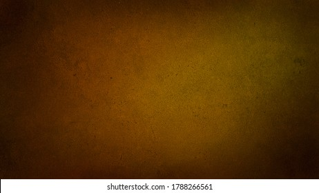 abstract orange and yellow background with dark gradient at the corners. rust and oxidized metal background. autumn and warm concept background for art work.