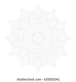 Abstract ornamental background, Can be used for coloring book page
