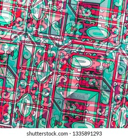 Abstract ornamental pattern