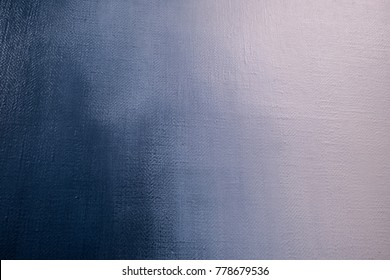 Abstract painted background, blue and white colors
