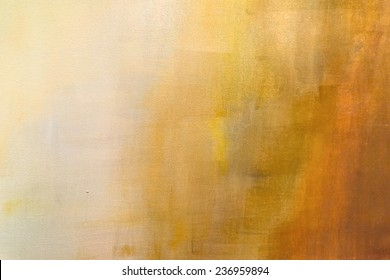 abstract painted orange background