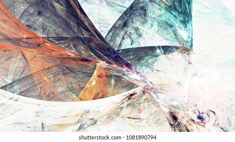 Abstract painting color texture. Grunge artistic background. Modern pattern. Fractal artwork for creative graphic design