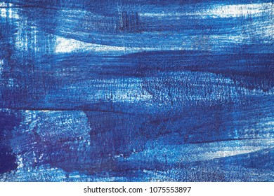 Abstract painting wall blue or sea.Abstract texture background for wallpaper design and decoration.