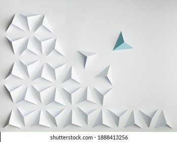 abstract paper  background concept leadership conflict