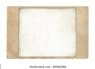 Abstract paper frame. Vintage paper