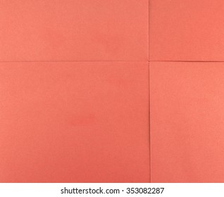 abstract of paper red square sheet