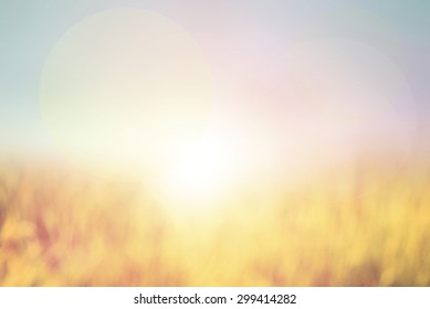Abstract pastel blurred background