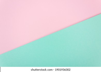 Abstract pastel colored paper texture. Geometric shapes and lines. Minimalist background. Flat lay. Copy space.