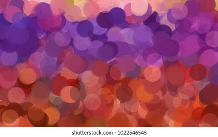 Abstract pastel colors wallpaper. Colorful texture background. Pastel bubbles in violet, pink and orange colors.
