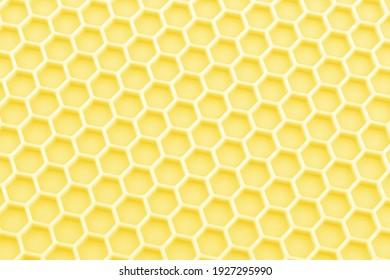 abstract pastel illuminating yellow honeycomb close-up unobtrusive photo background