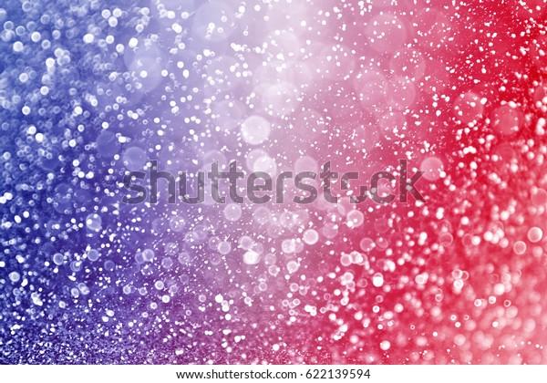 Fondo abstracto de brillo color rojo y azul