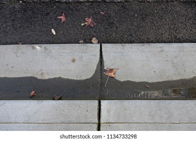 Abstract Pattern in Concrete and Asphalt